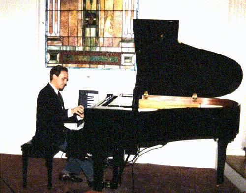 John at the Piano at Pinson Memorial UMC
